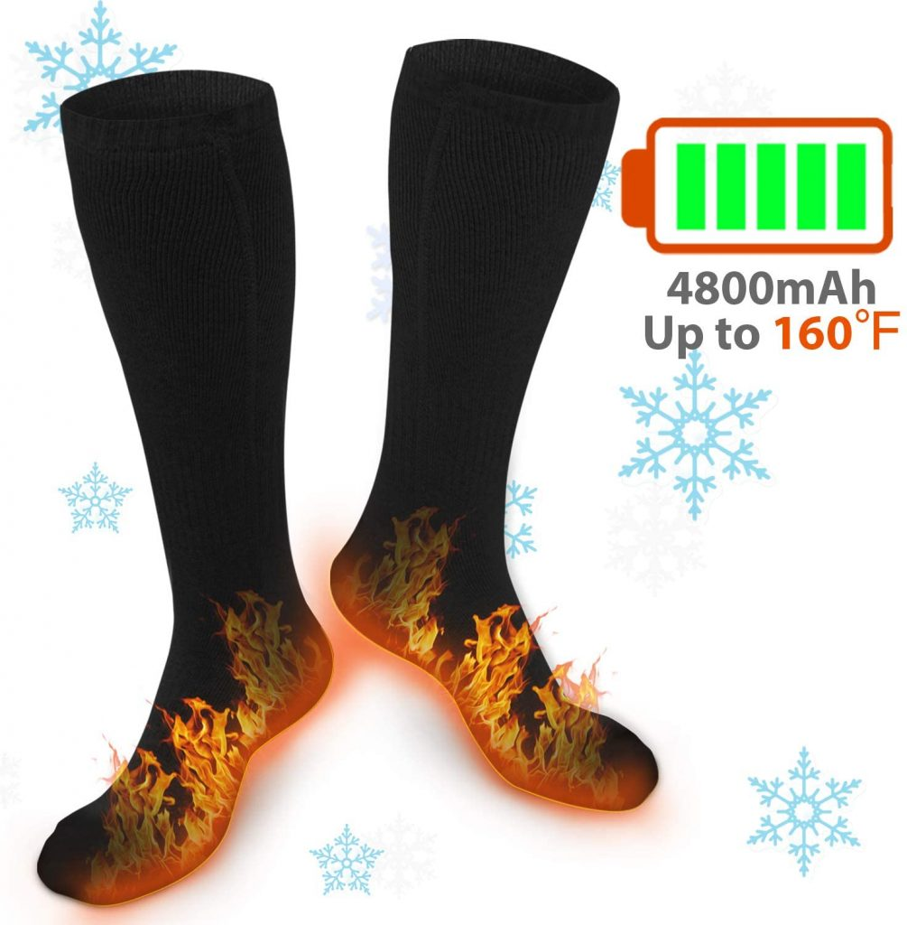 Best Budget Warm Hunting Socks: XBUTY Heated Socks